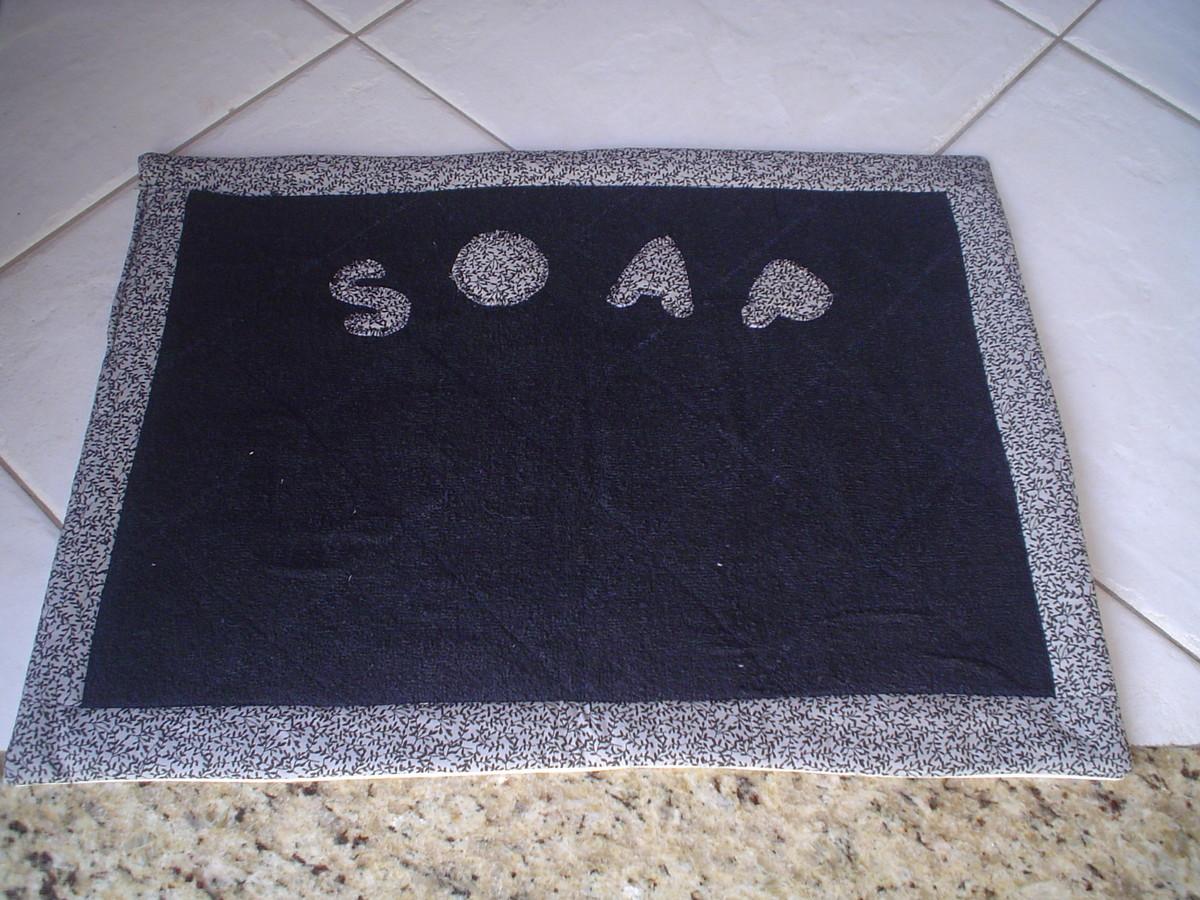 Tapete Para área De Serviço Ou Banheiro No Elo7 Ponto Caseado
