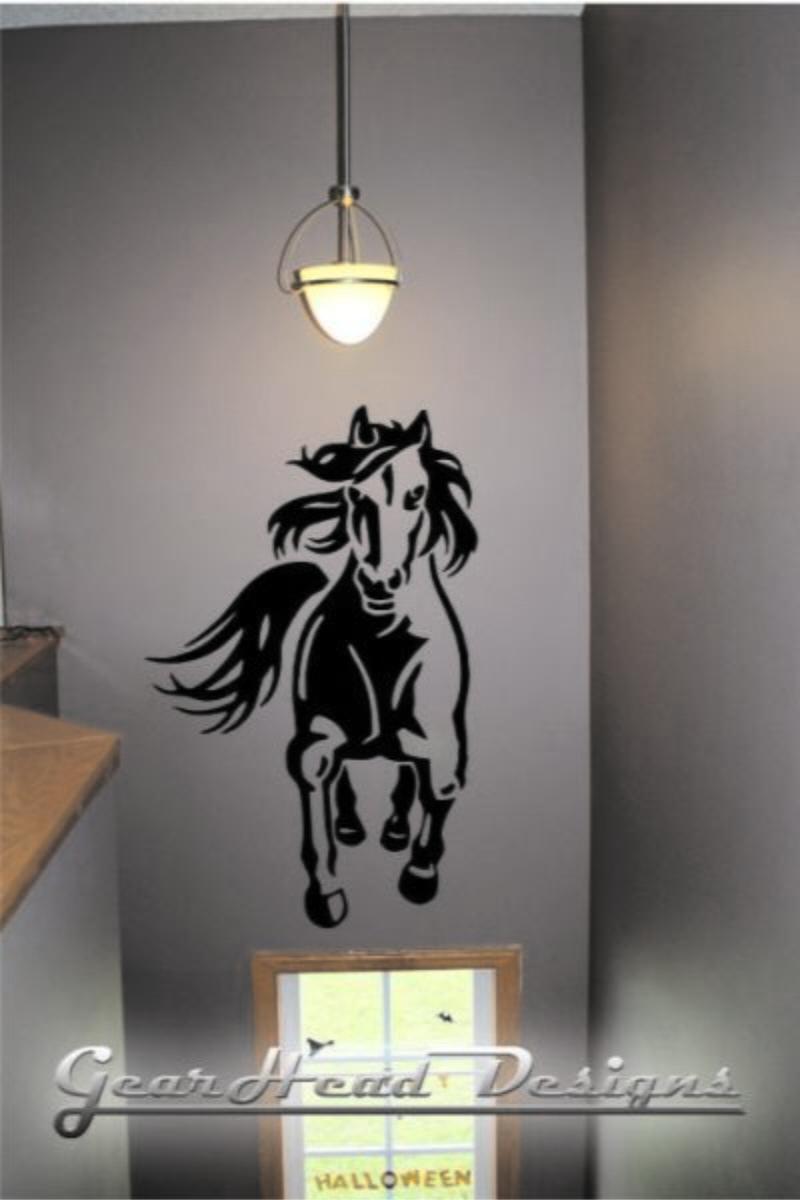 Adesivo Decora O Parede Cavalo Frente No Elo7 Paredes Decoradas  -> Fts De Cavalo Rm Adesivo Pra Quarto