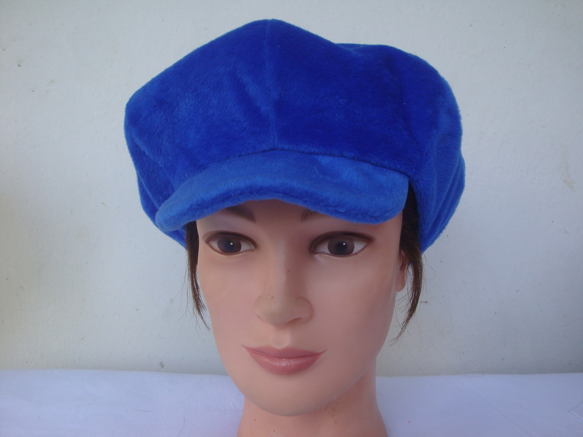 47bea37a716ca Boina azul royal no Elo7