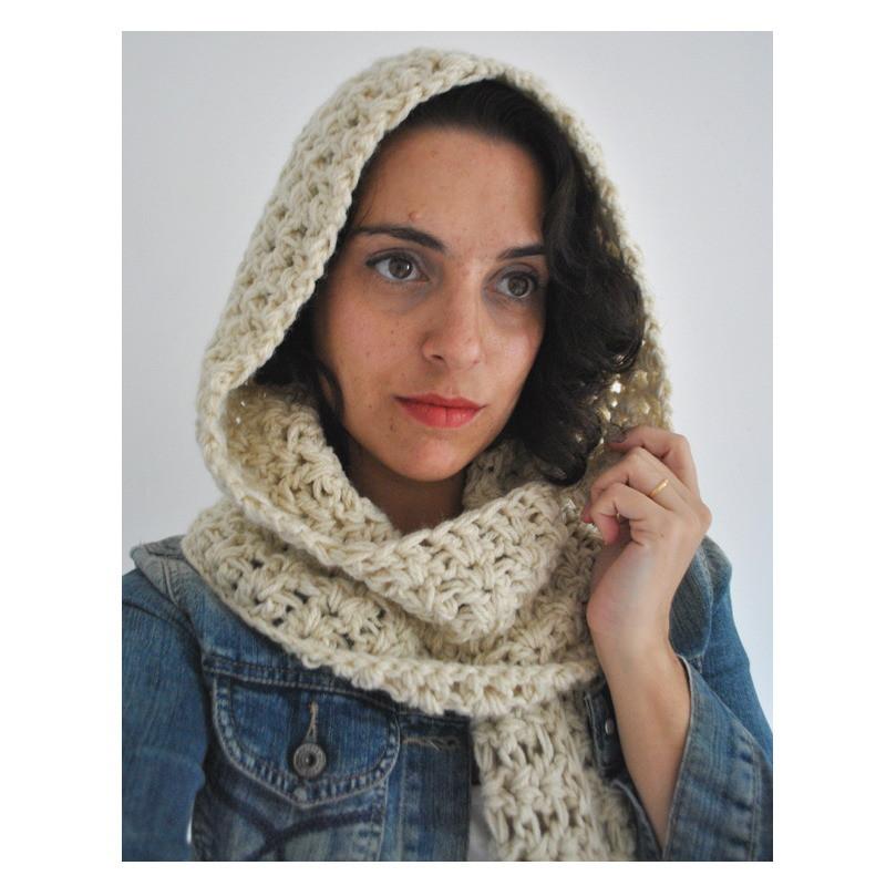 Resultado de imagem para cachecol com capuz croche