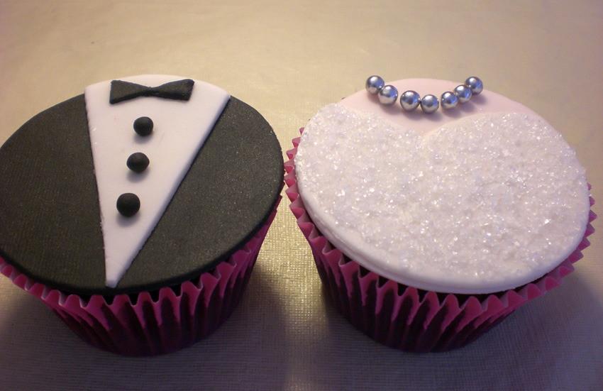 Cake Design Passo A Passo : Cup Cakes Noivos Doces & Cia Elo7