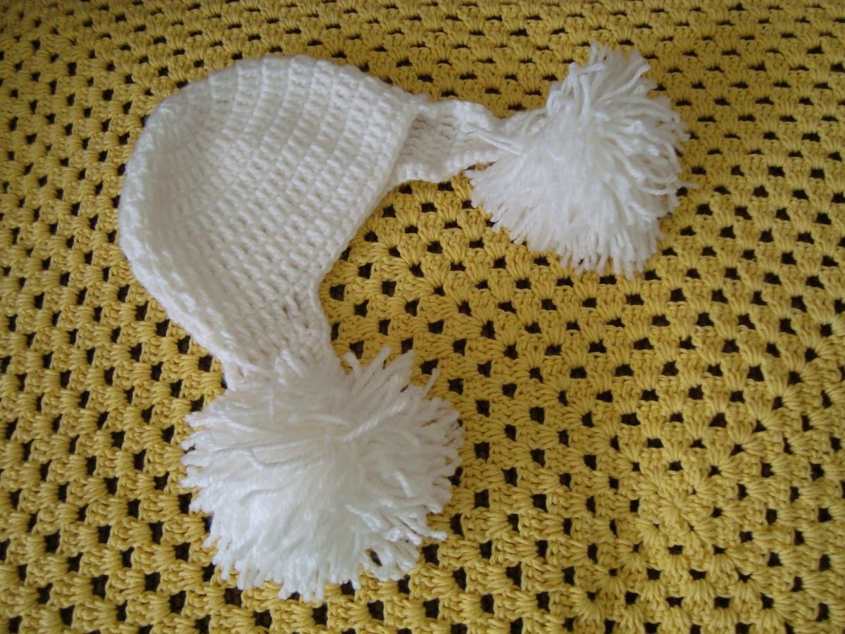 Touca pompom no Elo7  65959f95cd6