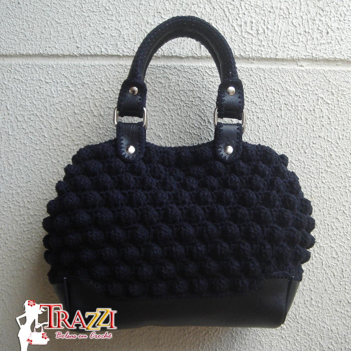 Bolsa D G Mini - Preta no Elo7   TRAZZI (B1F45) 20fcf49641