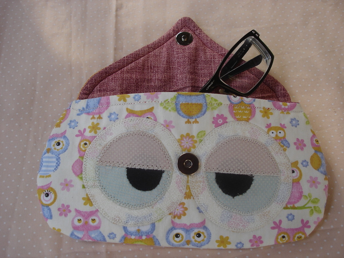 Porta culos coruja no elo7 teco di pano 3513f2 for Porta oculos