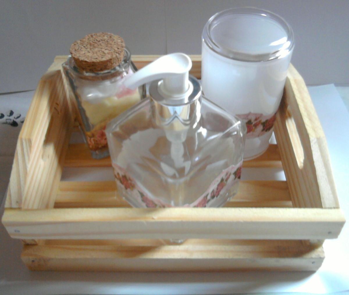 Buffet Aparador Adega ~ Kit para banheiro 27 no Elo7 arts& arts artesanato (352534)