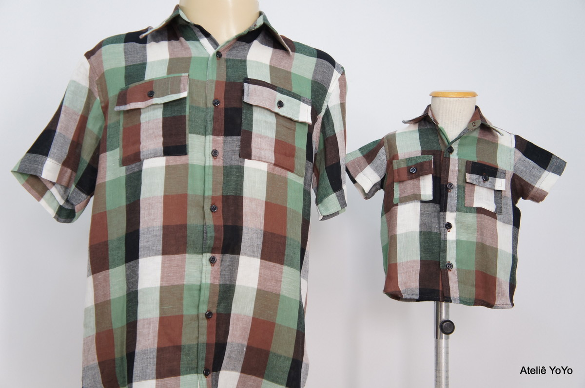 cfe61f582f843b Camisa Pai e Filho nº M/01