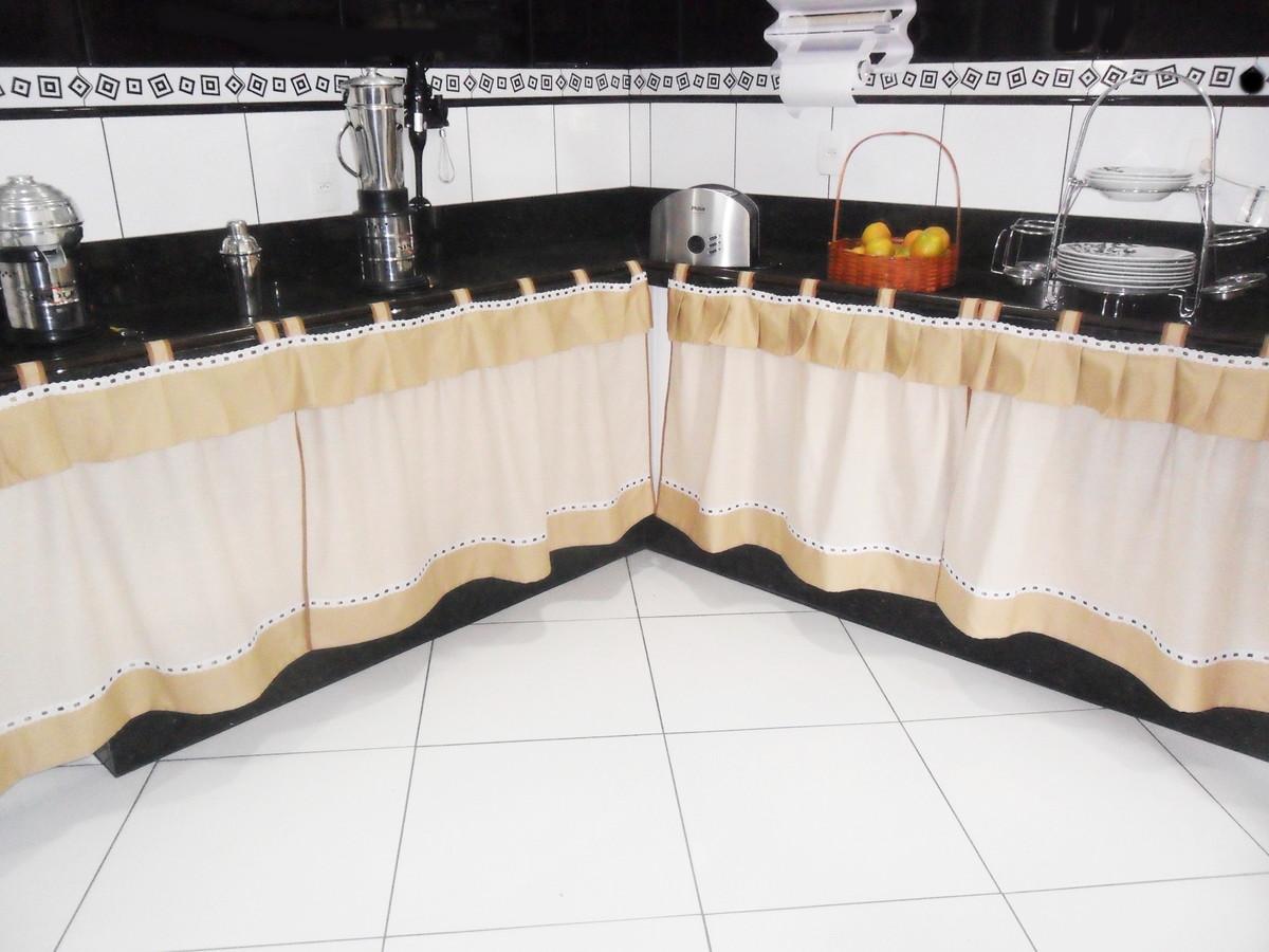Linho O Luxo Entra Na Cozinha No Elo7 Croch Carioca 3574e3