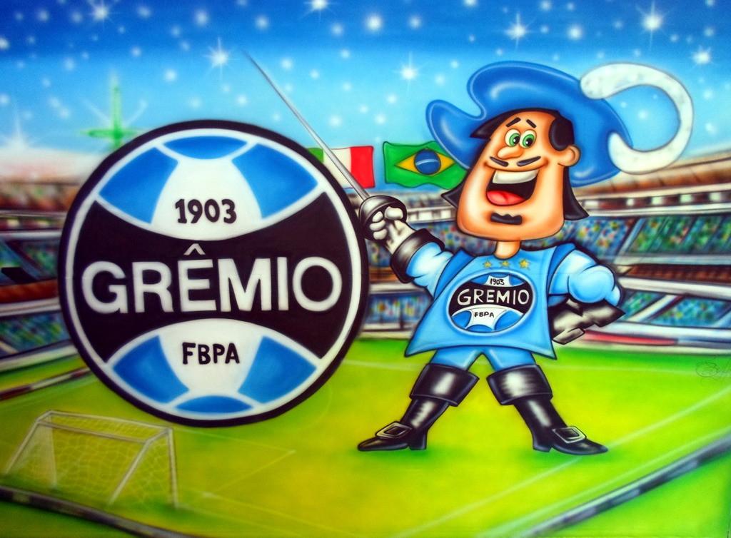 Painel Time de Futebol do Grêmio no Elo7  f8a2cfcec7f67