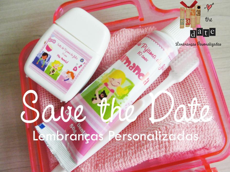 Maleta Acrílica Festa do Pijama Save the Date 3ffed2d534