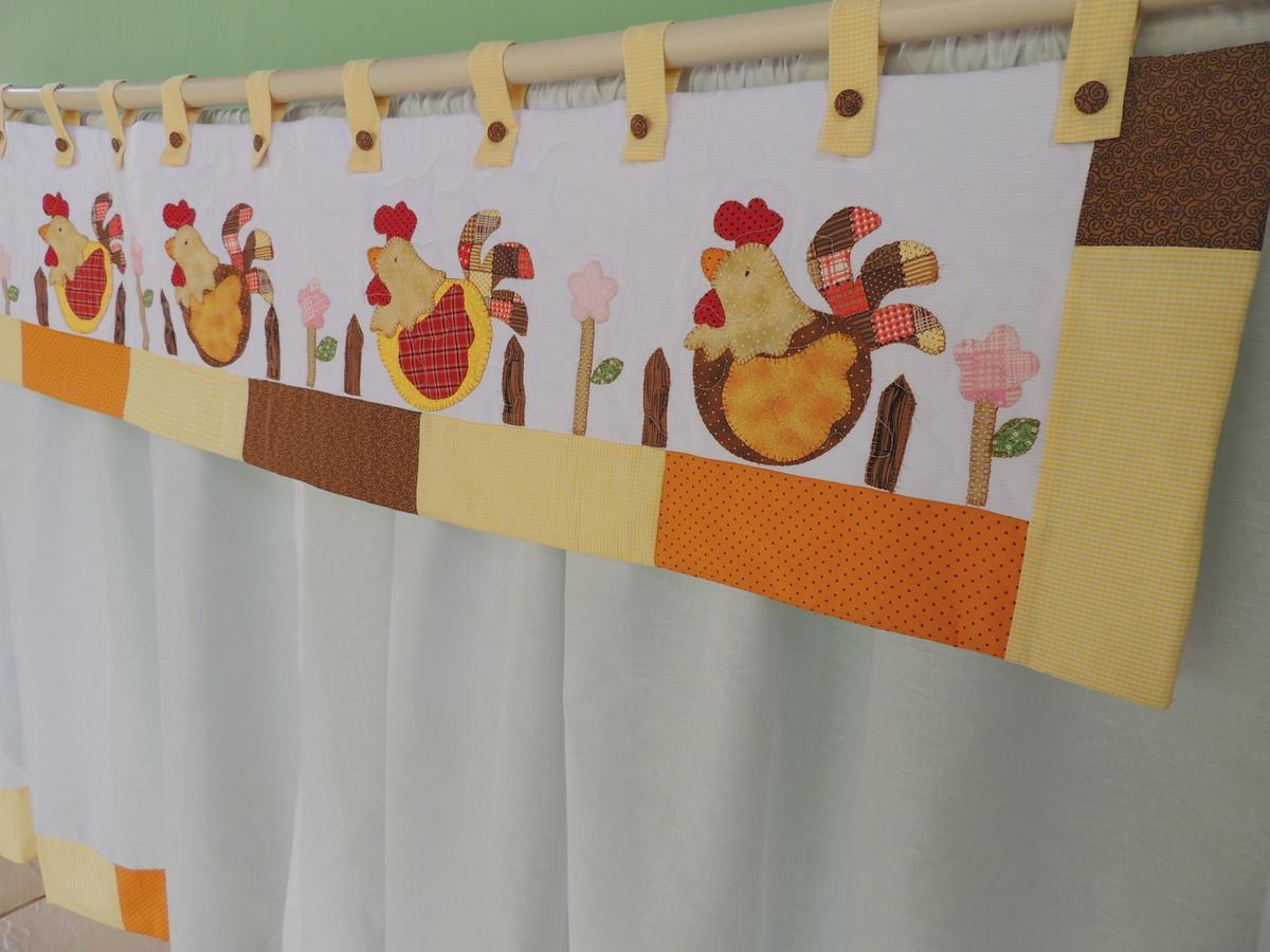 Tia Lili Patchwork: como fazer e costurar cortinas