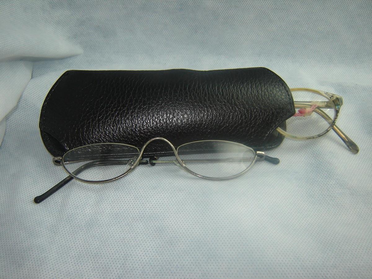 Porta óculos de leitura no Elo7   Aurilucy Artigos em Couro (38CFA9) 06ef572312