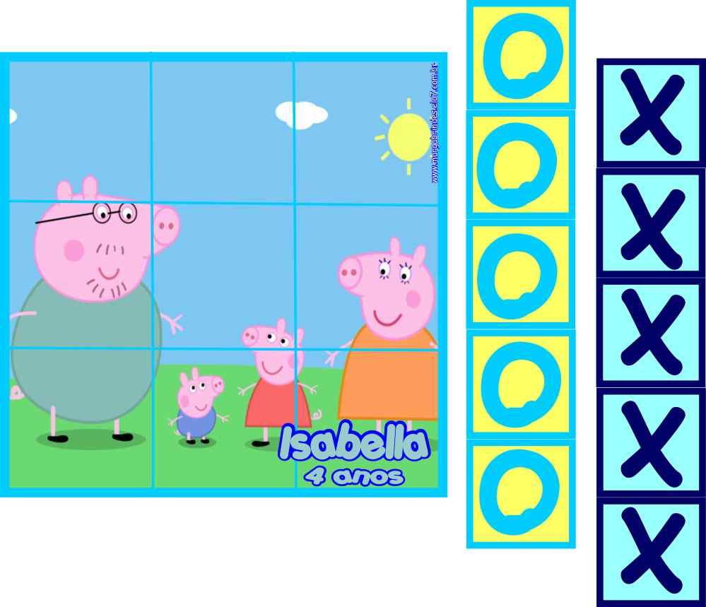 Jogo Peppa Pig Jigsaw