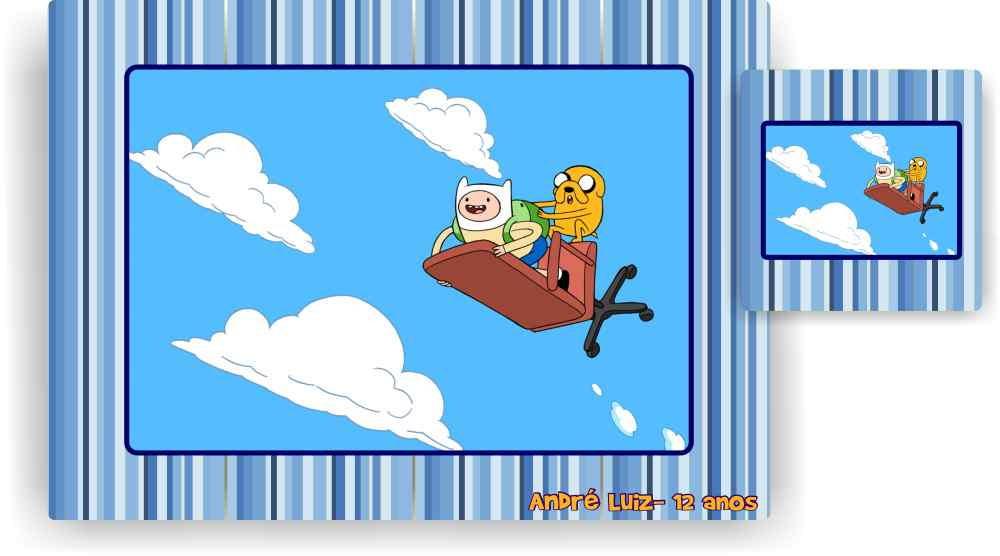 Hora de aventura jogo americano no elo7 marga brindes 399809 zoom hora de aventura jogo americano altavistaventures Image collections