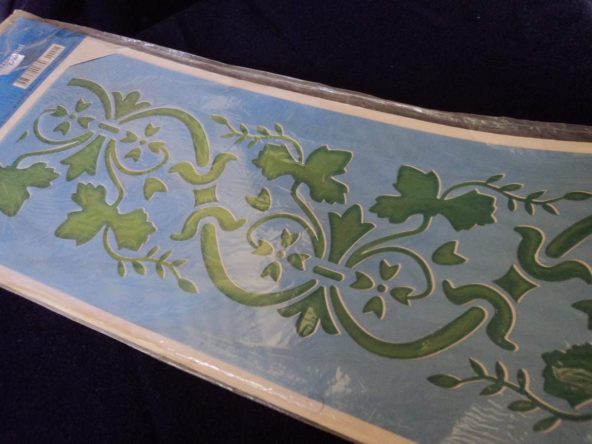 St ncil para pintura decorativa no elo7 cida uema 3a0433 - Pintura decorativa para paredes ...