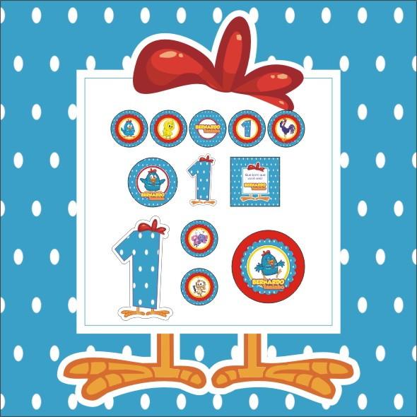 Kit Festa Galinha Pintadinha 5 Artes No Elo7 Tok Chik 3b21f2