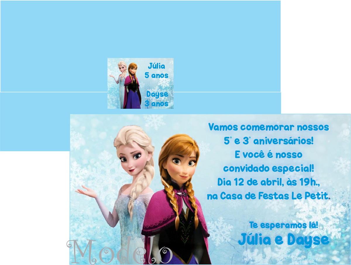Convite Frozen No Elo7 Andrews Convites E Lembrancinhas 3d1db1