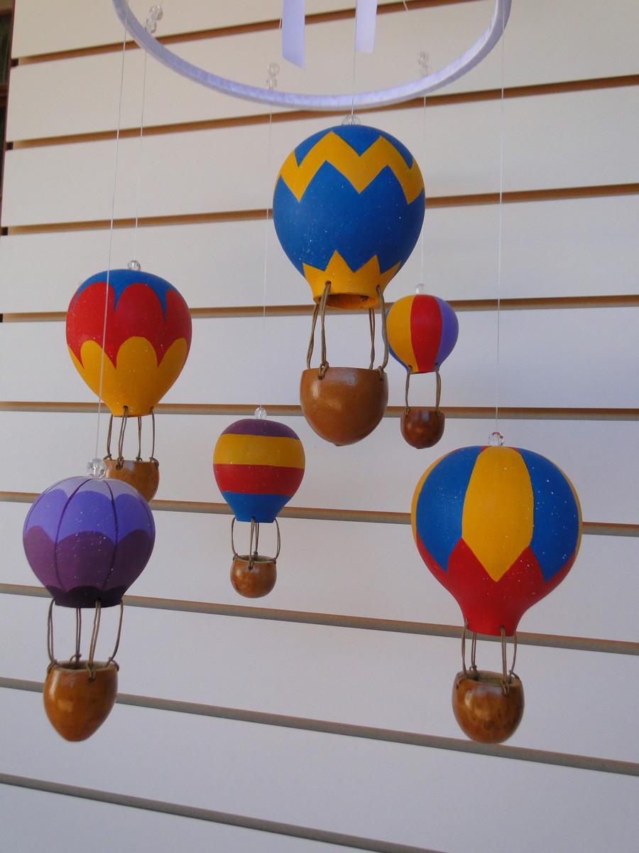 Enfeite De Balão ~ Móbile Bal u00e3o de Cabaça Ateli u00ea Bonecarte Elo7