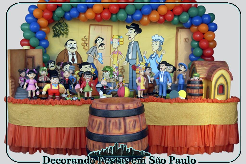 Enfeite De Zíper ~ Decoraç u00e3o Mesa Chaves no Elo7 Decorando Festas em S u00e3o