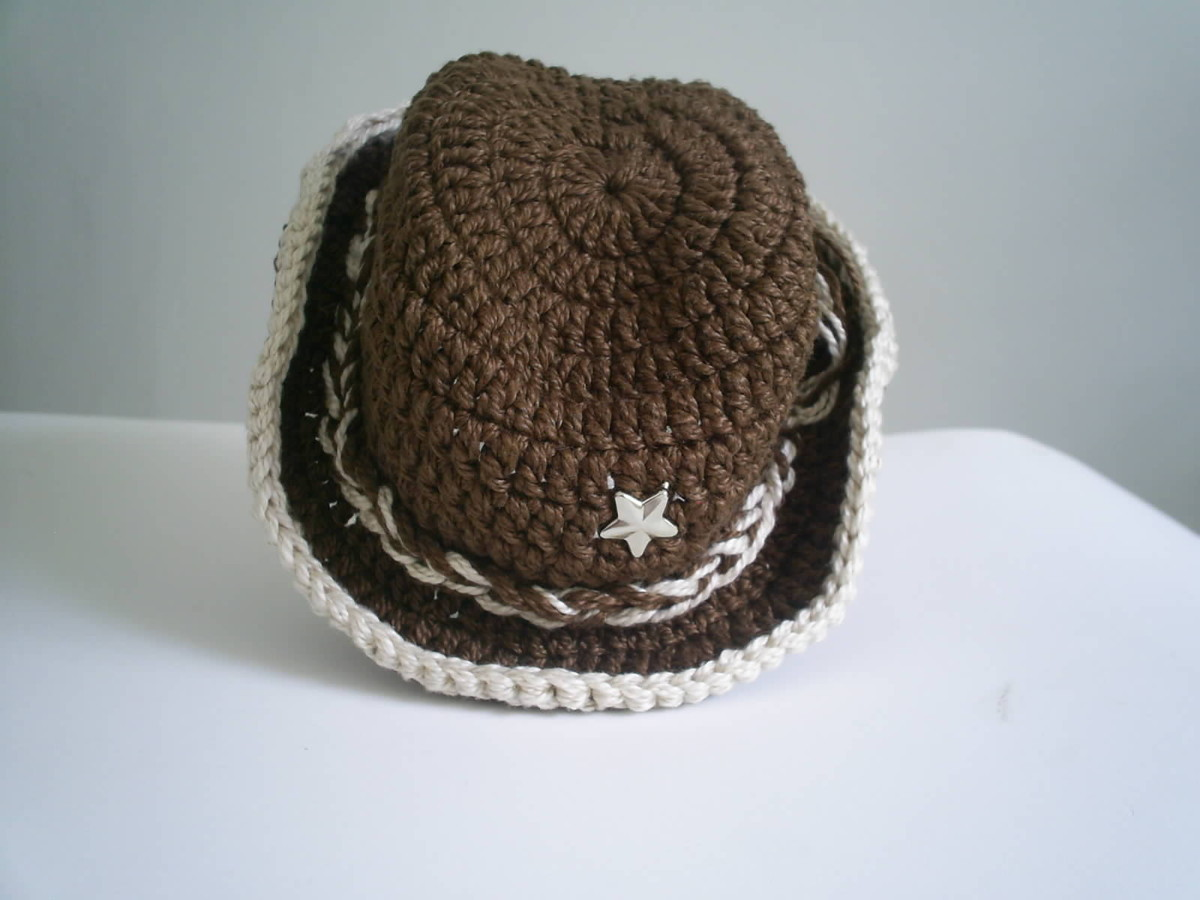 d9b7540968890 Chapéu Cowboy - Newborn no Elo7