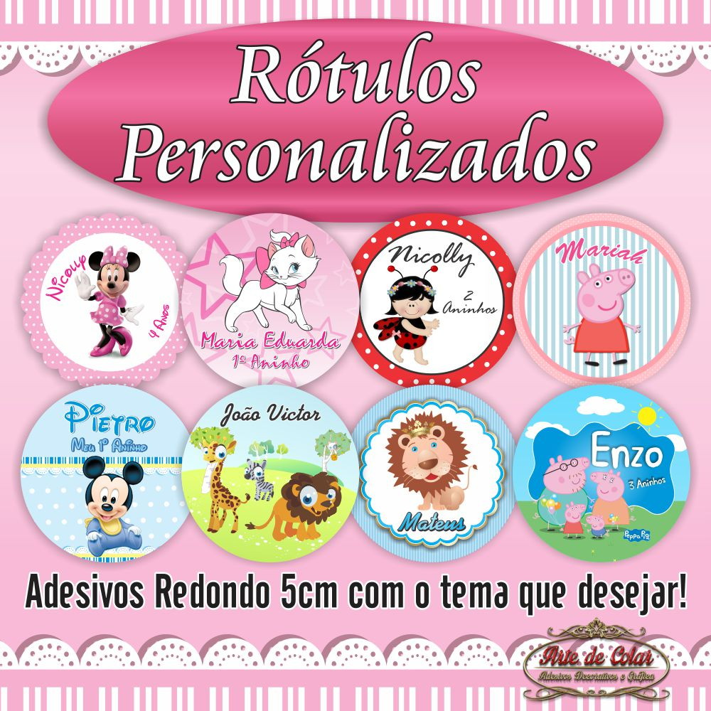 Artesanato Recife Antigo ~ Adesivos personalizados lembrancinhas no Elo7 Arte de Colar Adesivos e Gráfica (3E9395)