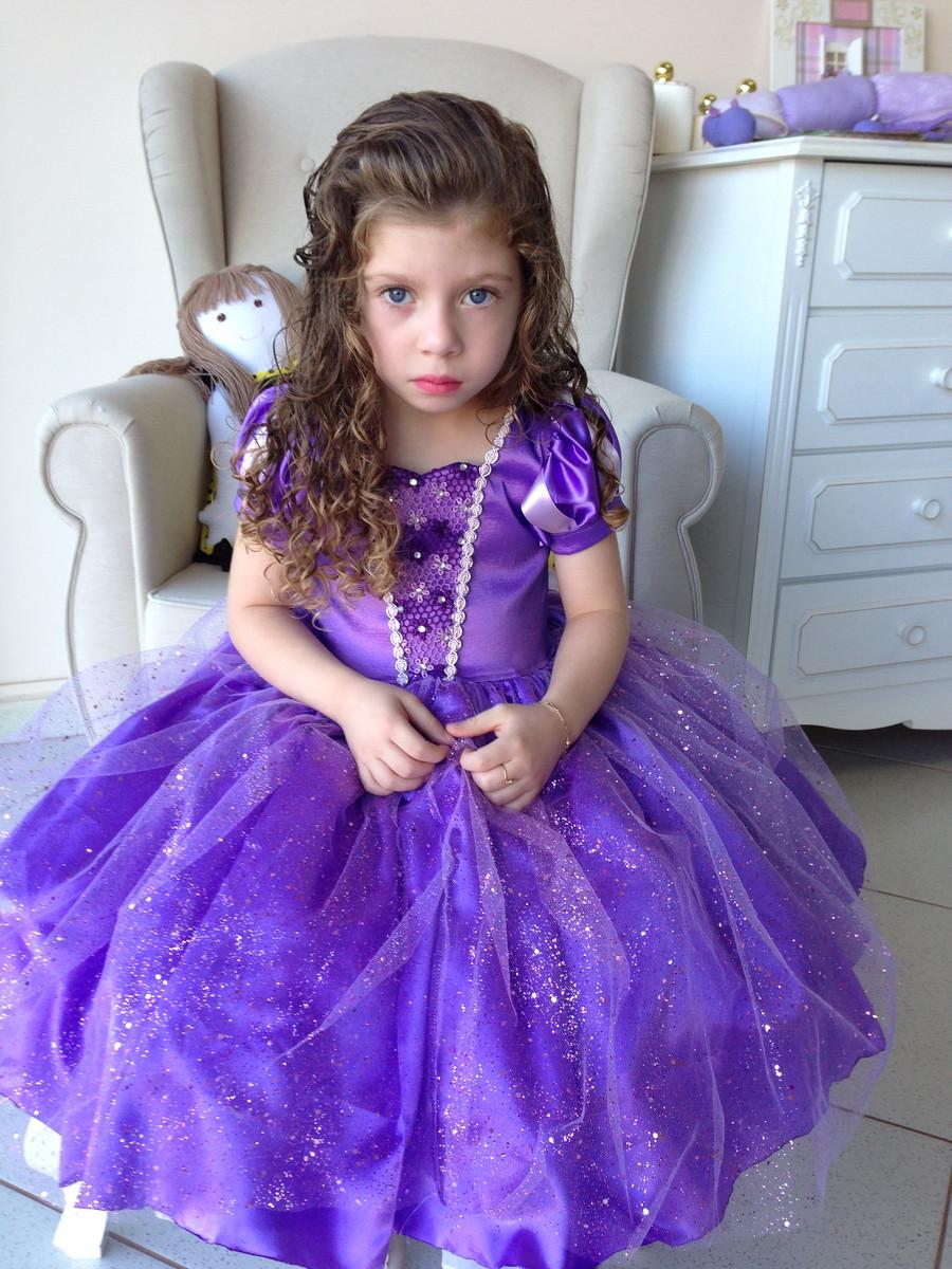 Vestido princesinha sofia dalili store baby elo7 - Foto princesa sofia ...
