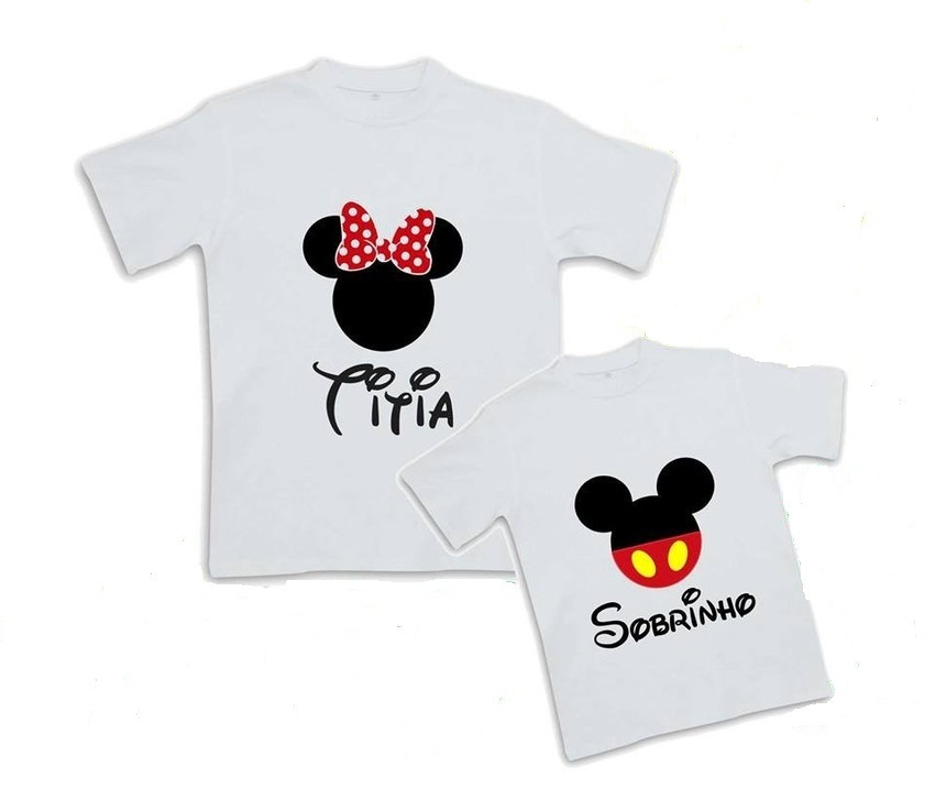 Kit Camisetas Tia E Sobrinho No Elo7 Store For Babies 3efd3b