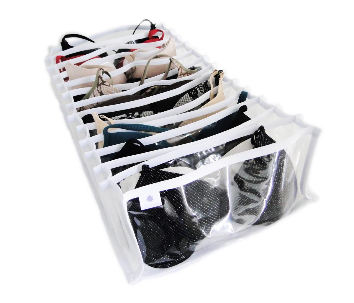 Organizador de suti s 13 div 29x13x52 fashionarts elo7 - Organizador de bolsas de plastico ...