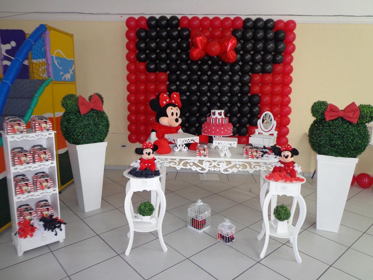 Aluguel Mesa Provençal Minnie Vermelha no Elo7 Festa Glamour Garantido (3F9494)
