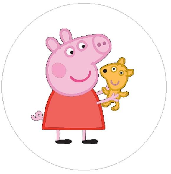 Botton Peppa Pig No Elo7
