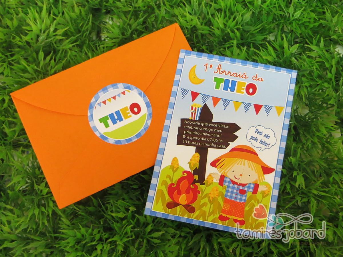 Convite Festa Junina Baby Menino No Elo7 Creative Paper Por