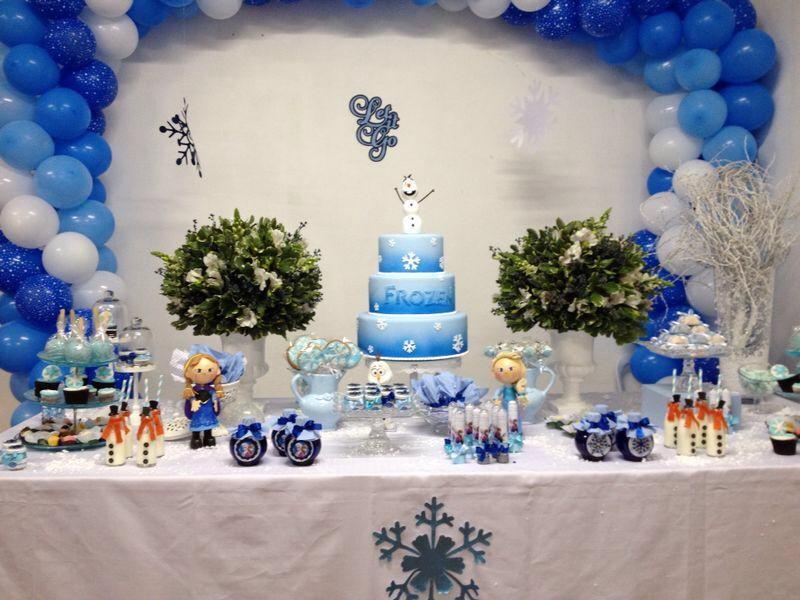 Decoração De Festa Infantil Frozen No Elo7 Lilá Criando Ideias