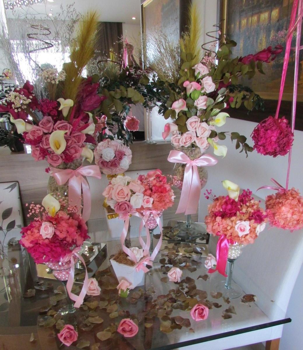 Kit festa enfeites p mesas principais i no elo7 - Fotos de mesas decoradas ...