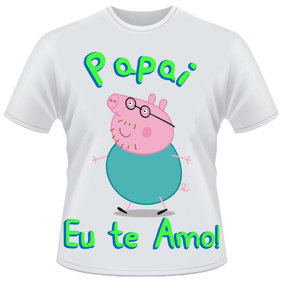 Camiseta Papai eu te amo no Elo7  283fd3b7b334c