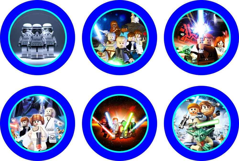 Adesivo Parede Dente De Leão ~ Star Wars Lego 15 adesivos no Elo7 Marga Brindes (41D1D5)