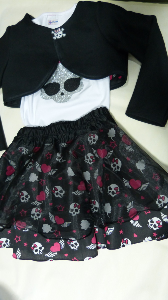 8971319f01750 Roupa Monster High no Elo7