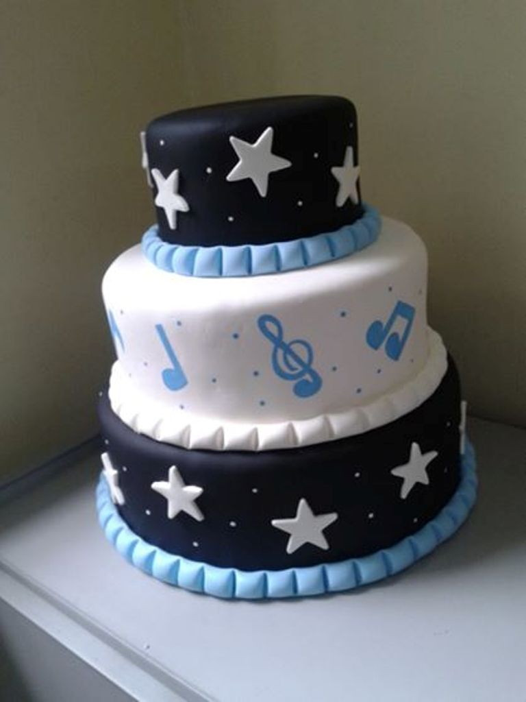 Music Decorated Cake