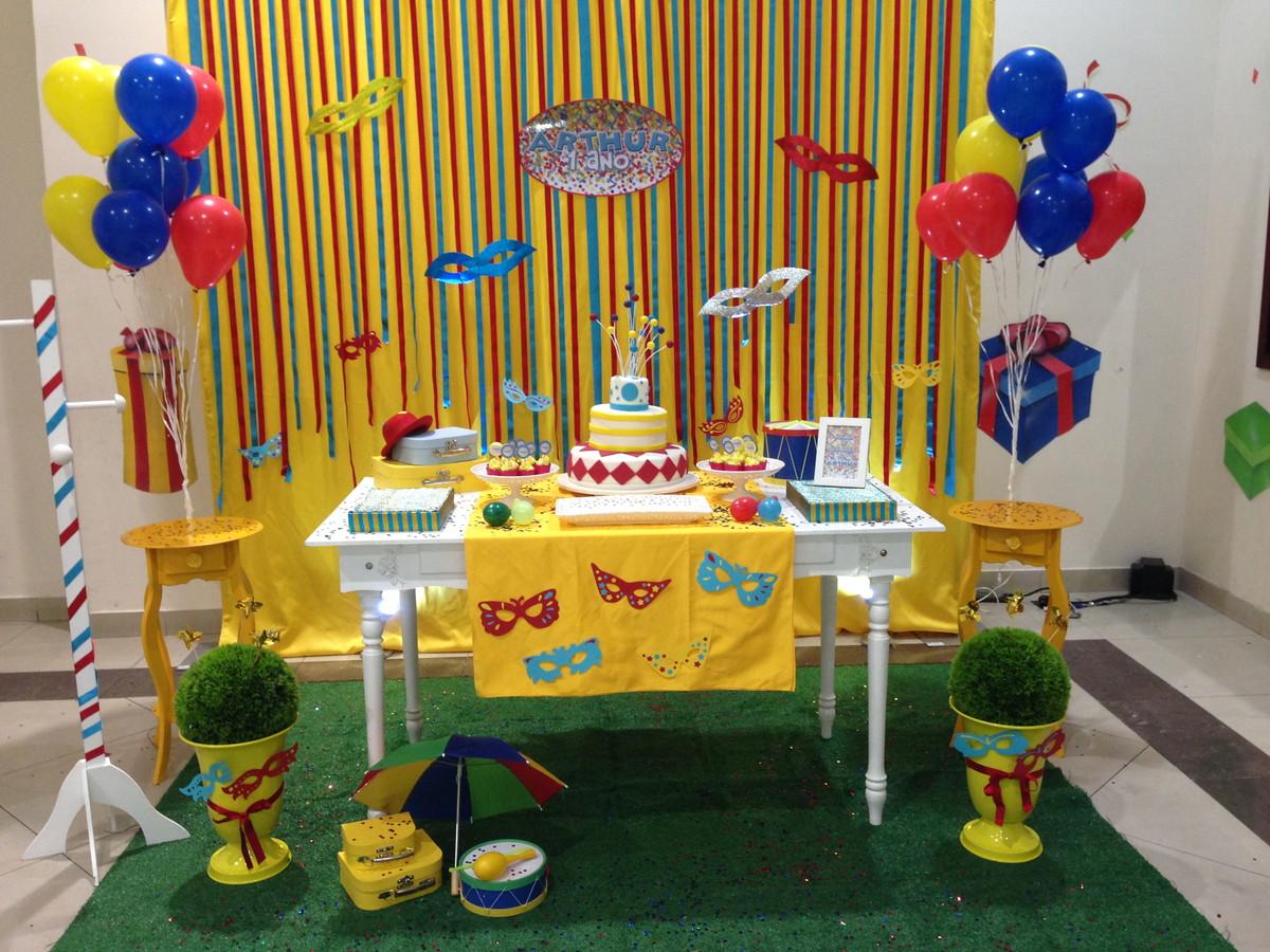 Decoração Tema Bailinho De Carnaval No Elo7 Chokólatras Em Festa