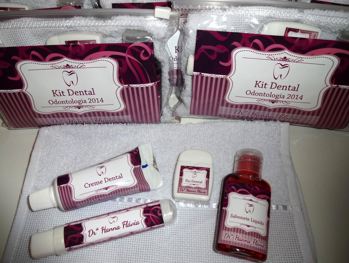 0837754f4 Kit Higiene Dental Personalizado no Elo7