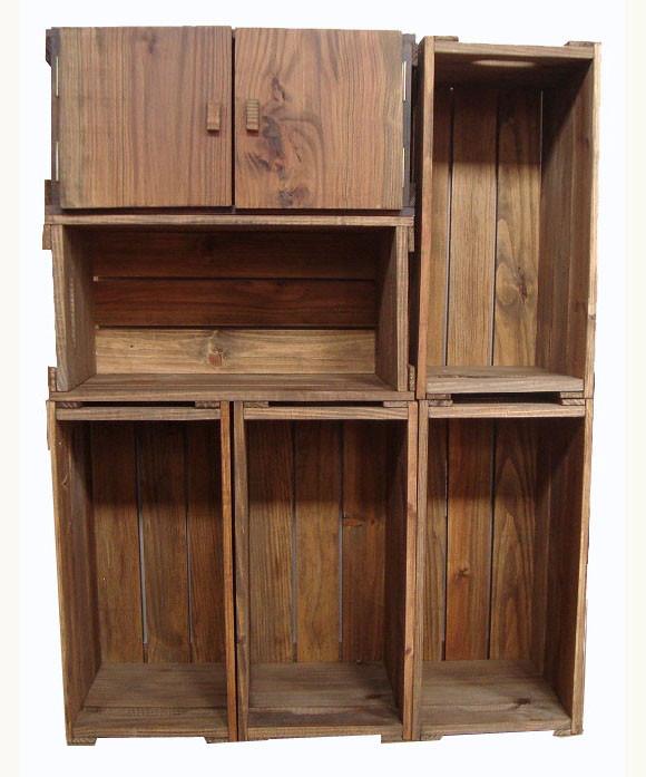 Kit Adesivo Joia De Unha ~ Armário 6 caixotes com uma porta no Elo7 Caixaria móveis (436D05)