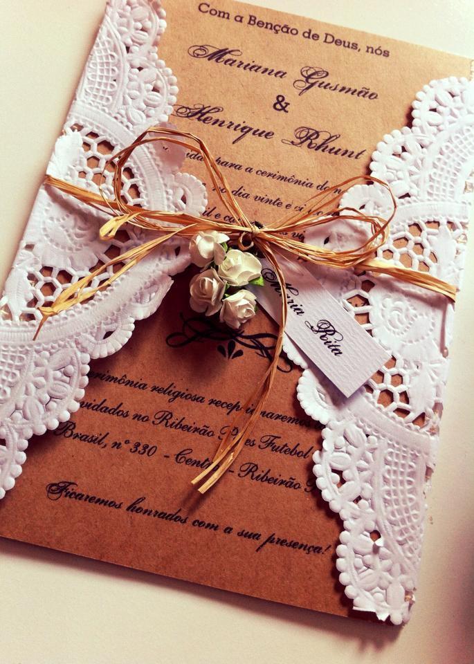Convites de casamento   Exemplos e modelos de convite