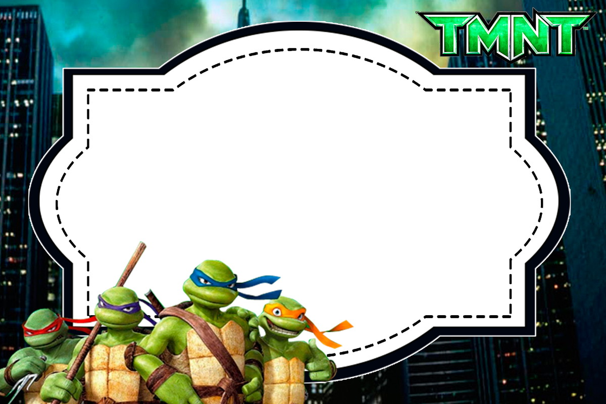 Quadro M 225 Gico Tartarugas Ninja No Elo7 Ateli 234 Da Naty
