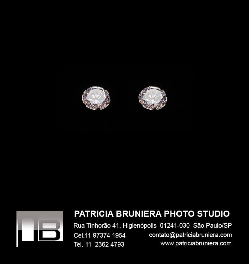 e415c5abb7c21 BRINCOS DE PRATA, ZIRCÔNIAS BRANCAS no Elo7   Audrey Suriê Joias ...