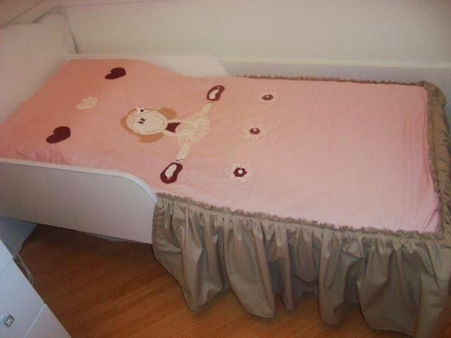 dc426b9971 Colcha mini cama bailarina no Elo7