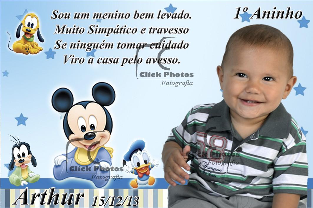 Imã De Geladeira Mickey Baby No Elo7 Click Photos 44f9fe