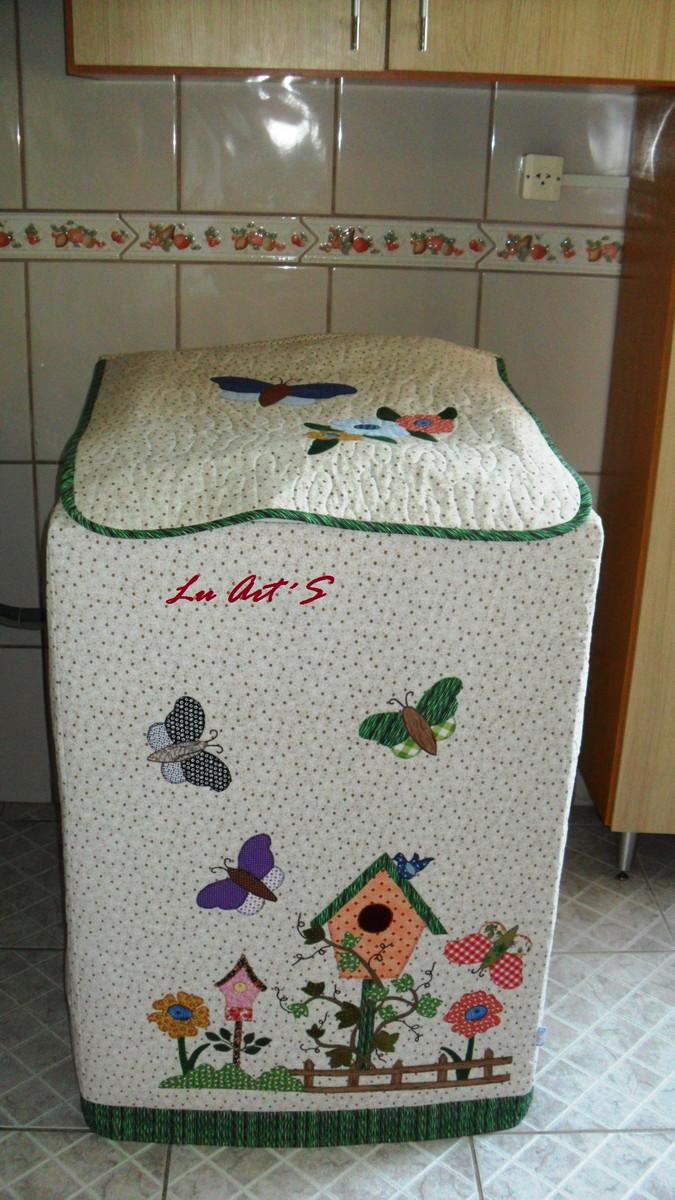 2bf505b02 Capa para máquina de lavar roupa no Elo7