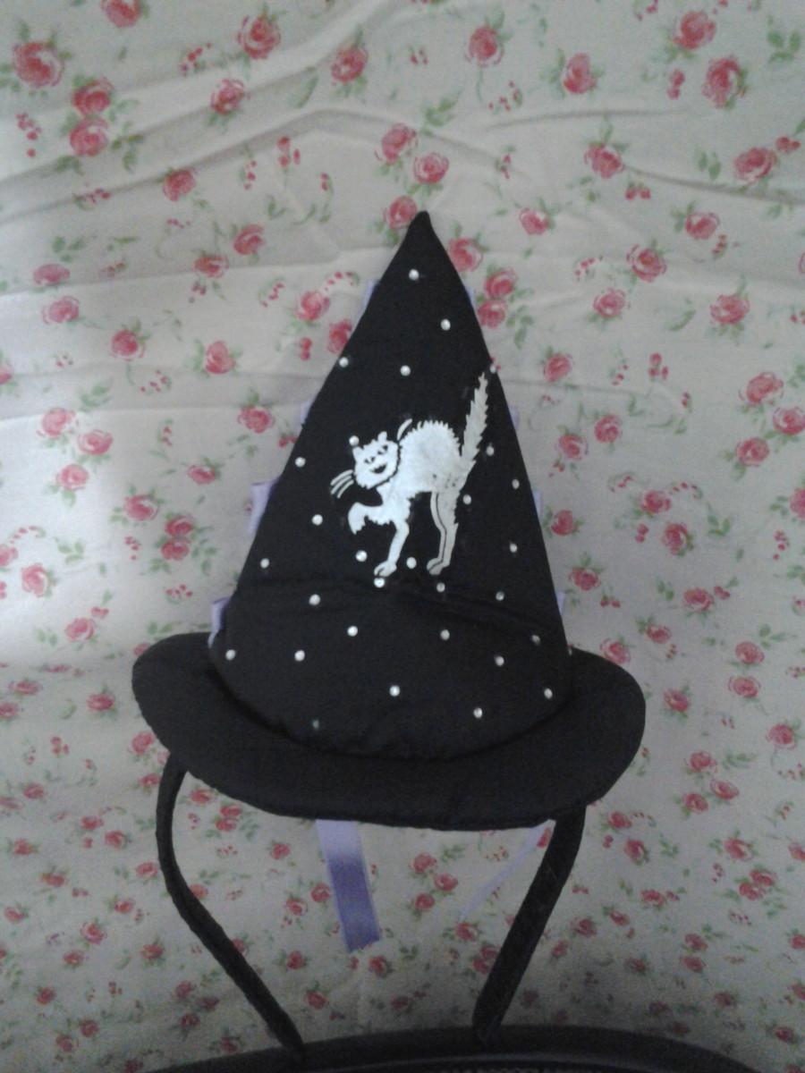 Chapéu de bruxa no Elo7  2f9b50ba900