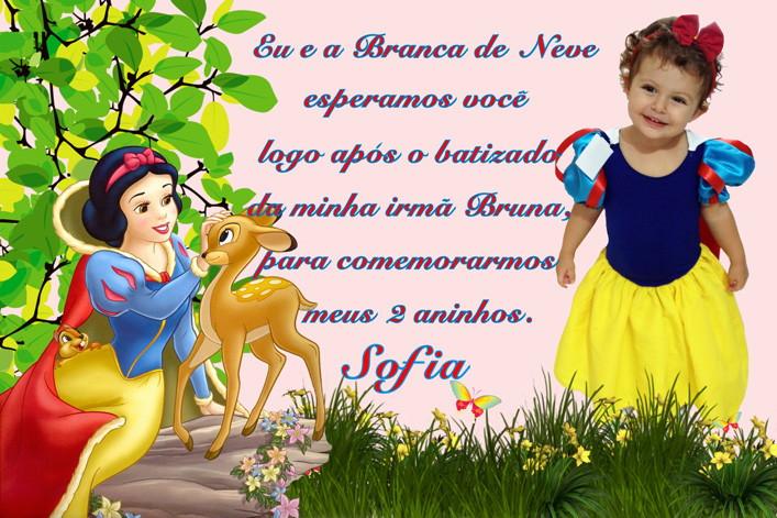Convite Branca De Neve No Elo7 Luciartselo7combr 45c1e2