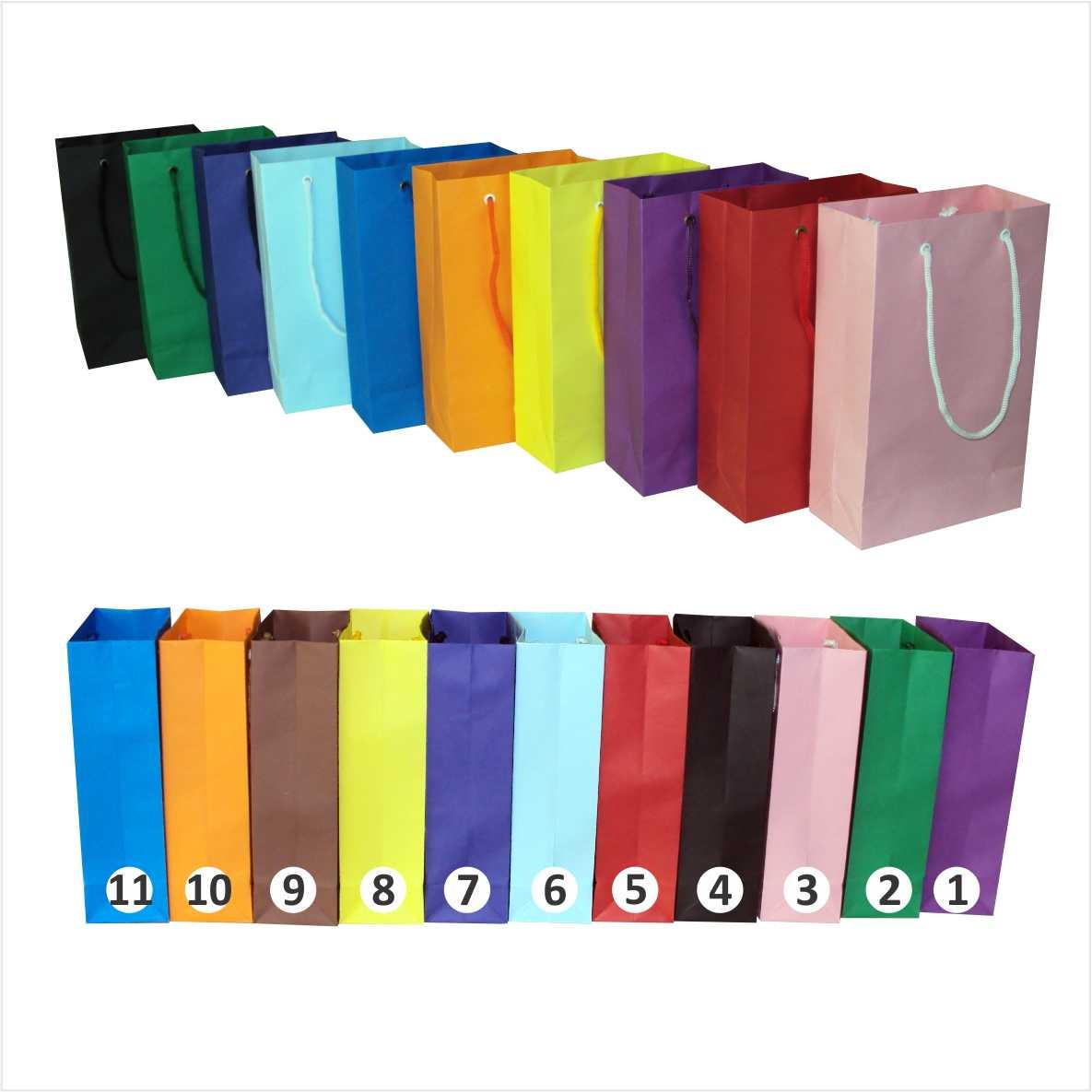 0bdcd26c3 Sacola de papel coloridas 15x24x7 cm no Elo7 | Artesanal Sacolas (2A774)