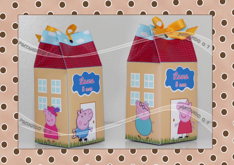 Caixa De Leite Peppa Pig No Elo7 Pintando O 7 4656a6