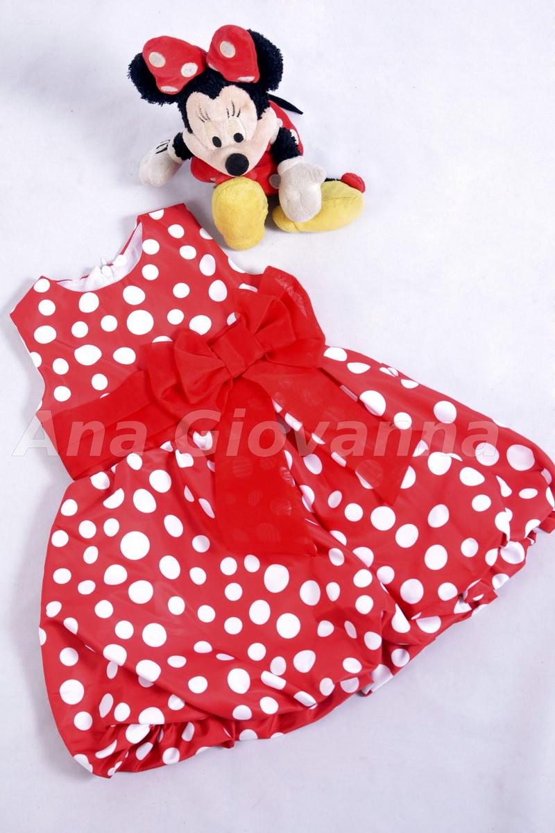 61e6697ba28 Vestido da Minnie balonê baby no Elo7